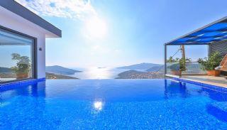Möblierte Villen zum Verkauf in Kalkan mit Infinity Pool, Foto's Innenbereich-19