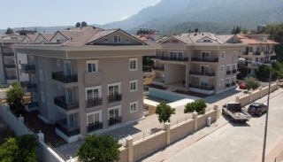 Fullt möblerade fastigheter med bergsutsikt i Kemer, Kemer / Arslanbucak - video