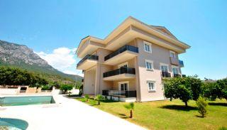 Fullt möblerade fastigheter med bergsutsikt i Kemer, Kemer / Arslanbucak
