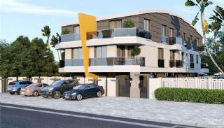Gloednieuwe woning in een complex met zwembad in Antalya, Antalya / Kundu - video