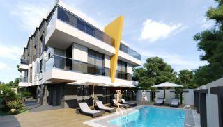 Gloednieuwe woning in een complex met zwembad in Antalya, Antalya / Kundu