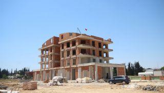 Investering appartementen dicht bij de luchthaven in Antalya, Bouw Fotos-4