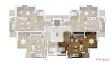 Апартаменты Емеральд, Планировка -1