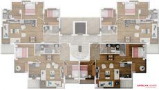 Апартаменты Емеральд, Планировка -2