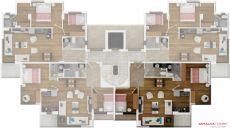 Апартаменты Емеральд, Планировка -3