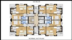 Apartments with Great Mountain View in Konyaalti Antalya, Property Plans-2