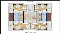Apartments with Great Mountain View in Konyaalti Antalya, Property Plans-4