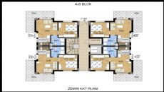 Apartments with Great Mountain View in Konyaalti Antalya, Property Plans-1