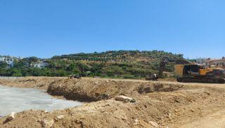 Резиденции в Алании в Комплексе с Бассейном и Садом, Фотографии строительства-1