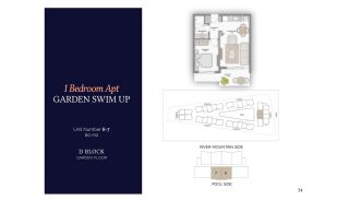 Резиденции в Алании в Комплексе с Бассейном и Садом, Планировка -8
