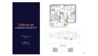 Резиденции в Алании в Комплексе с Бассейном и Садом, Планировка -15