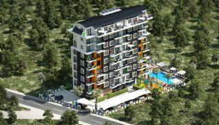 Nya Alanya Apartments med havsutsikt i Avsallar, Alanya / Avsallar