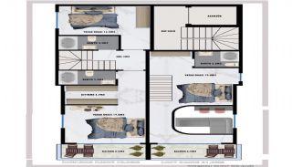 Modernes Appartements à Proximité de la Plage à Alanya, Projet Immobiliers-5