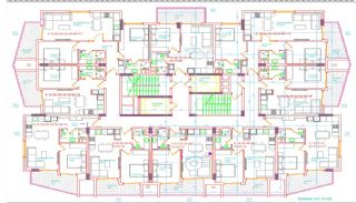 Luxuswohnungen in Meeresnähe im Zentrum von Alanya, Immobilienplaene-3