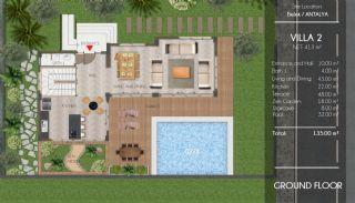 Ultra Luxus Villen in Belek in der Nähe der Golfplätze, Immobilienplaene-1