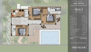 Ultra Luxus Villen in Belek in der Nähe der Golfplätze, Immobilienplaene-2