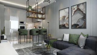 Samtida lägenheter i ett komplex med pool i Alanya, Interiör bilder-3