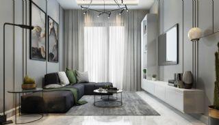 Samtida lägenheter i ett komplex med pool i Alanya, Interiör bilder-4