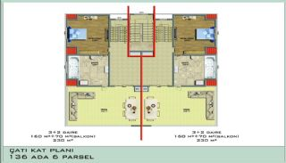 Ultra Luxury Flats in Alanya Avsallar Close to the Beach, Property Plans-2