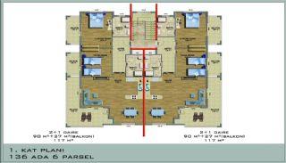 Ultra Luxury Flats in Alanya Avsallar Close to the Beach, Property Plans-3