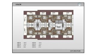 Alanya Real Estate in Complex with Indoor and Outdoor Pools, Property Plans-13