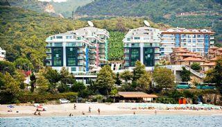 Furnished Alanya Apartment in a Sea View Complex in Kargicak, Alanya / Kargicak