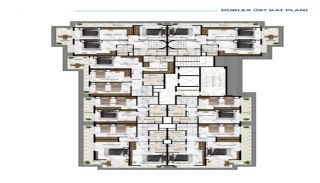 Роскошные Квартиры у Моря в Алании в Центре Кестеля, Планировка -2