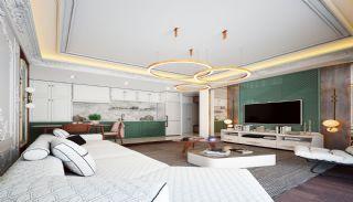 Islamic Concept Apartments with Sea View in Alanya Kargıcak, Interior Photos-2