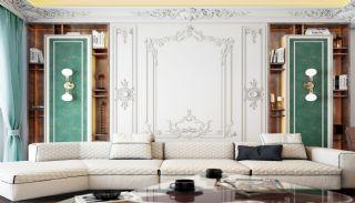 Islamic Concept Apartments with Sea View in Alanya Kargıcak, Interior Photos-3