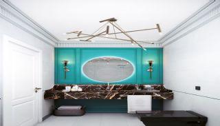 Islamic Concept Apartments with Sea View in Alanya Kargıcak, Interior Photos-6