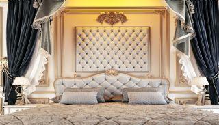 Islamic Concept Apartments with Sea View in Alanya Kargıcak, Interior Photos-8
