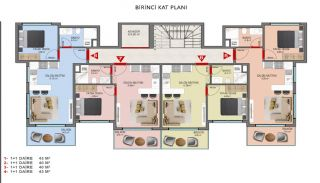 Investment Properties in Alanya Close to the Beach, Property Plans-2