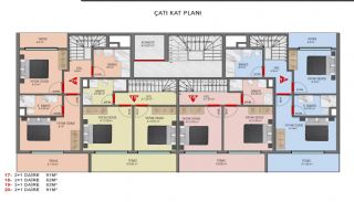 Investment Properties in Alanya Close to the Beach, Property Plans-6
