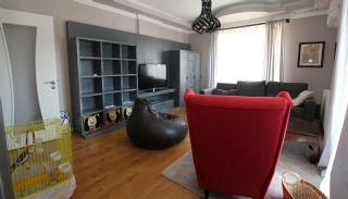 Mountain View Duplex Apartment in a Complex in Antalya, Interior Photos-3