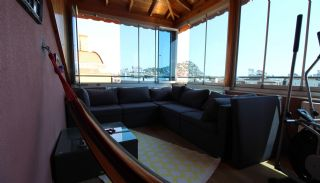 Mountain View Duplex Apartment in a Complex in Antalya, Interior Photos-19