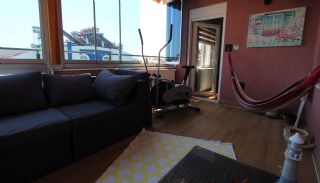 Mountain View Duplex Apartment in a Complex in Antalya, Interior Photos-20
