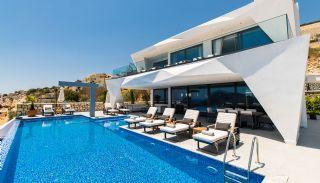 Fantastisk Kalkan villa med havsutsikt och toppmodern design, Kalkan / Centrum