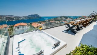 Fantastisk Kalkan villa med havsutsikt och toppmodern design, Planritningar-8