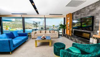 Villa med fantastisk utsikt över staden och havet i Kalkan, Interiör bilder-12