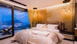 Villa med fantastisk utsikt över staden och havet i Kalkan, Interiör bilder-13