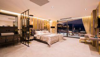 Villa med fantastisk utsikt över staden och havet i Kalkan, Interiör bilder-17