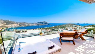 Villa med fantastisk utsikt över staden och havet i Kalkan, Interiör bilder-4