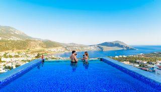 Villa med fantastisk utsikt över staden och havet i Kalkan, Interiör bilder-5