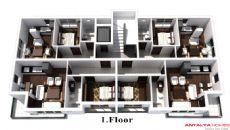 Pandora Huizen, Vloer Plannen-2