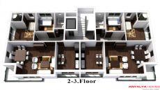 Пандора Апартаменты, Планировка -3