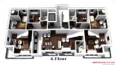 Пандора Апартаменты, Планировка -4