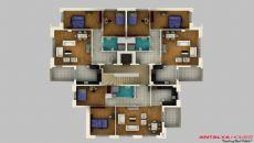 Апартаменты Колай, Планировка -2
