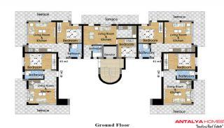 Prestige Park Evleri 3, Kat Planları-1