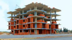 Cheap Apartments with Investment Opportunity in Kepez, Construction Photos-1