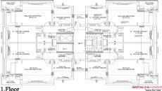 Orkide Huizen, Vloer Plannen-3